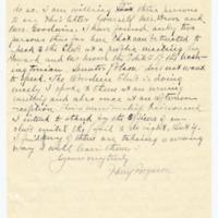 Letter from Harry Ferguson to Ellen Leckenby, 4/14/1909, page 3