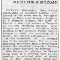 Page 120 : Suffragettes Are Too Much For A Morgan