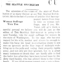 Page 062 : Woman Suffrage Vote Yes