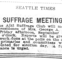 Page 157 : Suffrage Meeting