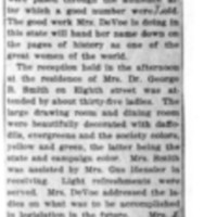 Page 153 : [news clipping: DeVoe in Anacortes