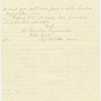 Letter from Christina Hagenmiller to Emma Smith DeVoe, 10/11/????, page 2