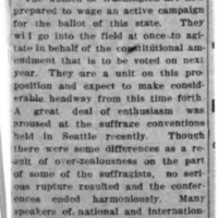 Page 107 : [news clipping: Women Go Into the Field]
