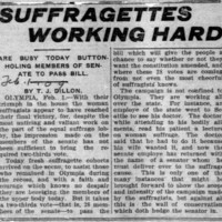 Page 095 : Suffragettes Working Hard