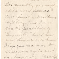 Letter from Norah Jeanson to Emma Smith DeVoe, 9/15/1913, page 2