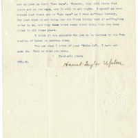 Letter from Harriet Upton to Emma Smith DeVoe, 1/7/1908, page 2