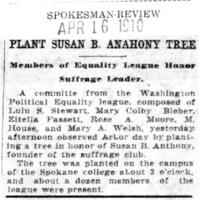 Page 081 : Plant Susan B. Anthony Tree