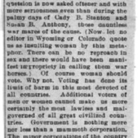 Page 068 : [news clipping: Should Women Vote?]