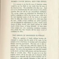 Page 236 : Female Suffrage : from the viewpoint of a male democracy (Page 13)