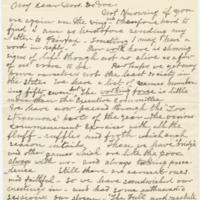 Letter from Luci Isaacs to Emma Smith DeVoe, 6/22/1908, page 1