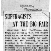 Page 088 : Suffragists at the Big Fair