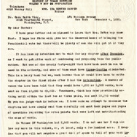 Letter from Ida Harper to Cora Smith King, 12/4/1920, page 1