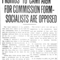 Page 092 : Prohibs To Campaign For Commission Form - Socialists Are Opposed (incomplete)