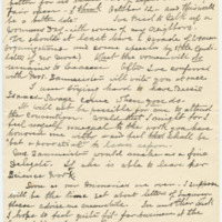 Letter from Luci Isaacs to Emma Smith DeVoe, 8/23/1908, page 2