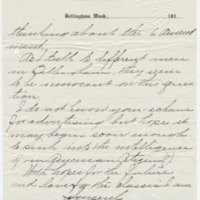 Letter from Mary Carpenter to Emma Smith DeVoe, 9/16/1910, page 2