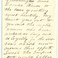 Letter from Cornelia Teal to Emma Smith DeVoe, 12/1/1910, page 2
