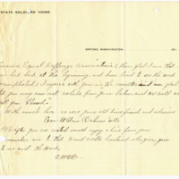 Letter from Eva Osburn to Emma Smith DeVoe, 11/10/1910, page 2