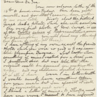 Letter from Luci Isaacs to Emma Smith DeVoe, 8/21/1910, page 1