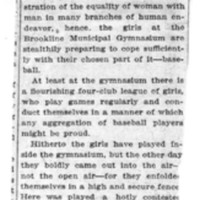 Page 165 : Girls Play Real Baseball