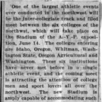 Page 004 : [news clipping: Athletic Events at A.Y.P. Stadium]