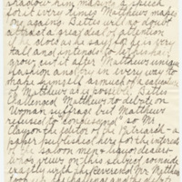 Letter from Lucy Kangley to Emma Smith DeVoe, 7/27/1908, page 2