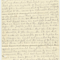 Letter from C. Flint to Emma Smith DeVoe, 5/13/1892, page 1