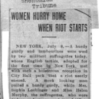 Page 096 : Women Hurry Home When Riot Starts