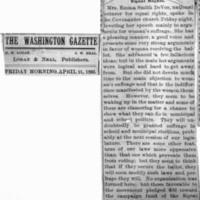 Page 033 : [news clipping: Washington Gazette flag]