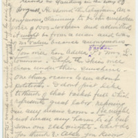 Letter from S.K. to Emma Smith DeVoe,[ 2/?/1909], page 2