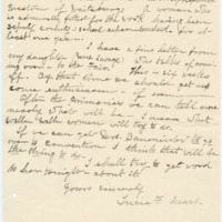 Letter from Luci Isaacs to Emma Smith DeVoe, 9/1/1908, page 2