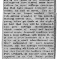 Page 111 : Suffragettes Start Popular Innovation