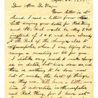 Letter from Julia Nelson to Emma Smith DeVoe, 4/26/1895, page 1
