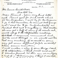 Letter from Harry Ferguson to Emma Smith DeVoe, 12/7/1910, page 1