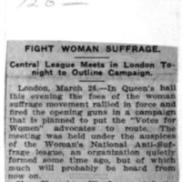 Page 125 : Fight Woman Suffrage