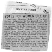 Page 050 : Votes For Women Bill Up