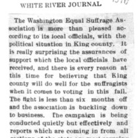 Page 170 : [King County Will Likely Do Well for the Suffragists]