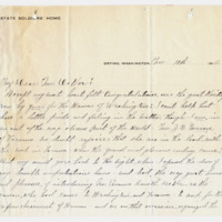 Letter from Eva Osburn to Emma Smith DeVoe, 11/10/1910, page 1