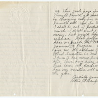 Letter from Abbie Danforth to Emma Smith DeVoe, 8/8/1910, page 2