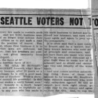 Page 167 : A Mother Pleads With Seattle Voters Not To Vote For H.C. Gill