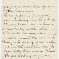 Letter from Sara Callow to Emma Smith DeVoe, 2/7/1908, page 2