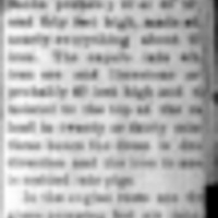 Page 61 : [news fragment: letter to the editor]