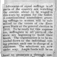 Page 009 : [news clipping: Suffrage Voted On in 1910]
