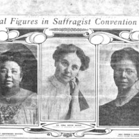Page 016 : Central Figures in Suffragist Convention Row