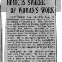 Page 144 : Home is Sphere of Woman's Work