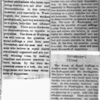 Page 176 : [news clipping: Equal Suffrage in Two Sets]