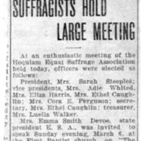 Page 007 : Suffragists Hold Large Meeting