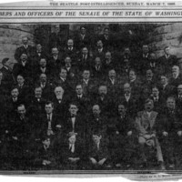 Page 112 : Members and Officers of the Senate of the State of Washington