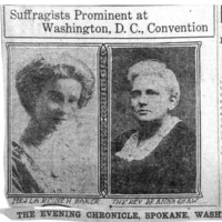 Page 065 : Suffragists Prominent at Washington, D.C., Convention