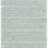 Lines on Reading 'Thought Force' (by William Walker Atkinson), page 1