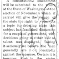 Page 031 : [Constitutional amendment will be submitted to voters in Washington State]